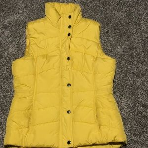 Yellow Women's New York and Company Vest Size S